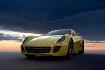 Obraz Samochód sportowy