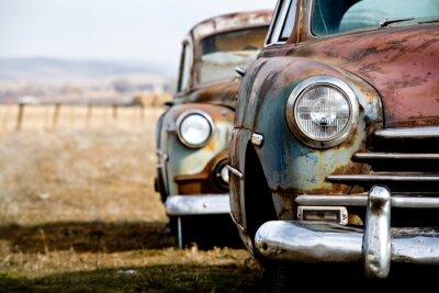 Obraz Samochód w stylu vintage