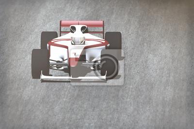 Obraz Samochodów wyścigowych na torze
