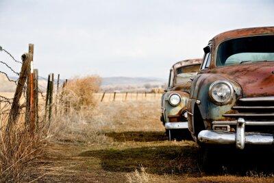 Obraz samochody zabytkowe
