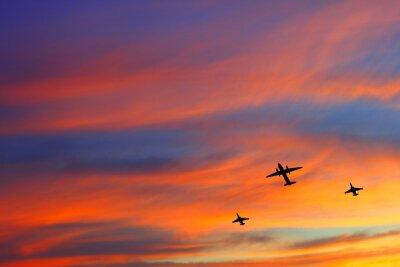 Obraz Samolot escort