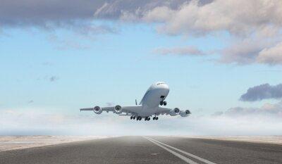 Obraz Samolot lecący