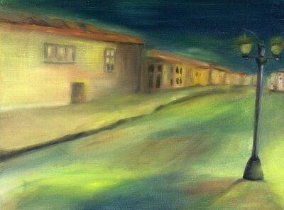 Obraz Samotny Ulica