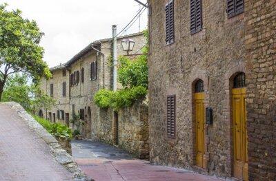 Obraz San Gimignano - Toskania, Włochy