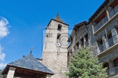 Sant Corneli y Sant Cebria w Ordino, Andora