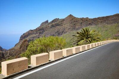Scenic mountain road, Spain