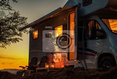 Obraz Scenic RV Camping Spot