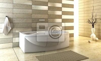 Schodkowa Kafelki Projekt łazienki Obrazy Redro