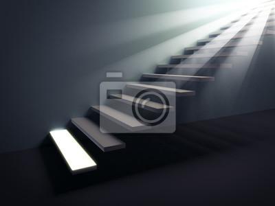 Obraz Schody do światła.