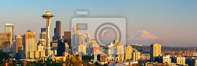 Seattle panoramę miasta