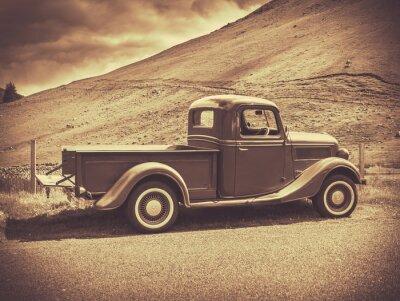 Obraz Sepia Vintage Truck