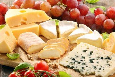 Obraz Ser pokładzie - różne rodzaje kompozycji sera