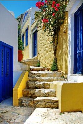 Seria greckie wyspy kolorowy - Symi