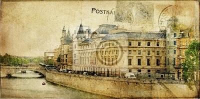 Seria kart zabytkowe paryskie