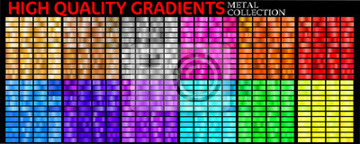 Obraz Set of colorful gradients