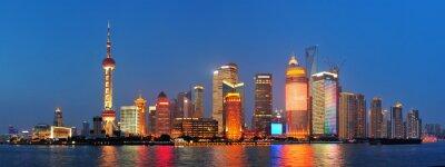Shanghai nocą