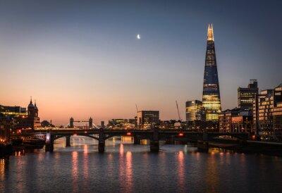 Obraz Shard i Tamiza, Londyn