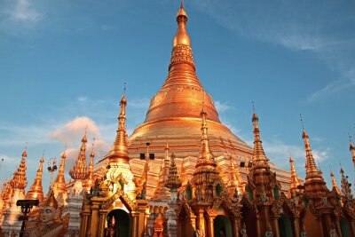 Obraz Shwedagon Pagoda w Yangon Birma