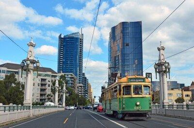 Obraz Sieć tramwajowa w Melbourne