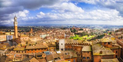 Obraz Siena - beautiful medieval town of Tuscany, Italy