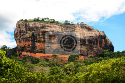 Sigiriya. Sri Lanka. Azja.