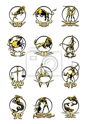 Signes du zodiaque - Astrologia Horoskop