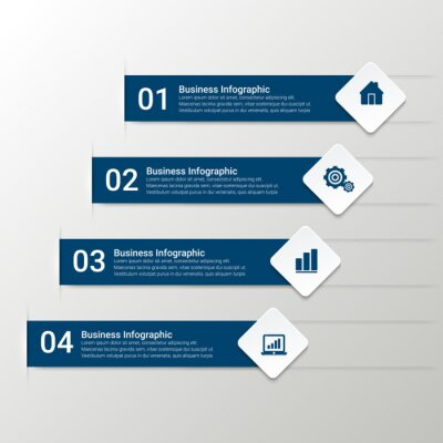 Simple Modern Infographics Template