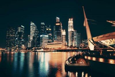 Obraz Singapore skyline