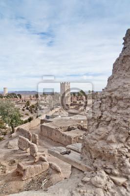 Skoura wieś Kasba w Maroku