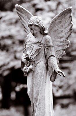 Obraz skrzydlaty anioł