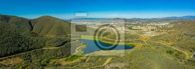 Obraz Small Lake in San Marcos, California