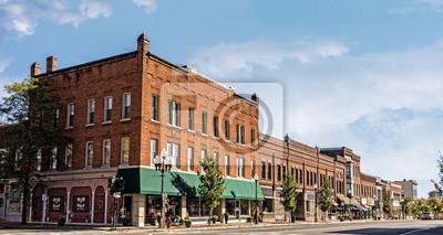 Obraz Small Town Main Street