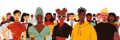 Obraz Social Diversity People Composition