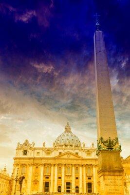 Obraz Spektakularny widok od ul. Peter Vatrican, Rzym