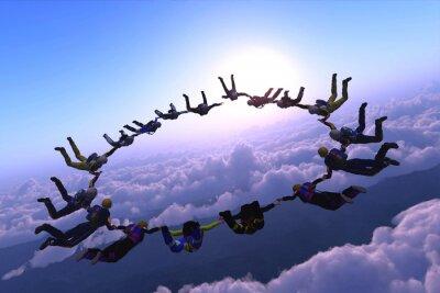 Obraz Sport jest w niebie