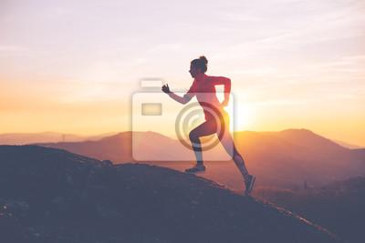 Obraz Sport mocno ubrania. Intentyczny rozmycie ruchu.