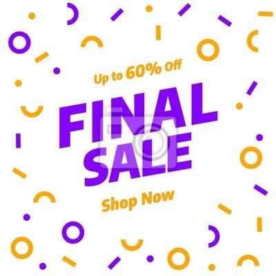 Sprzedaż szablon transparent, oferta specjalna sprzedaży Big. Baner ze specjalną ofertą na koniec sezonu. ilustracji wektorowych.
