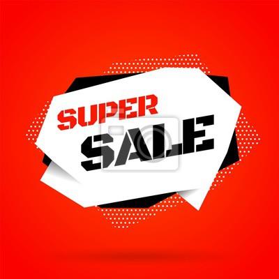 Sprzedaż szablon transparent, oferta specjalna sprzedaży Big. Ilustracji wektorowych.