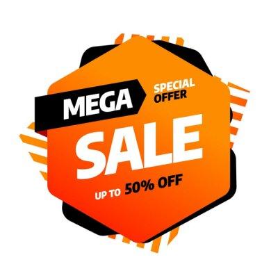 Sprzedaż szablonów bannerów, oferta specjalna Big sale. Koniec sezonu. Ilustracji wektorowych.