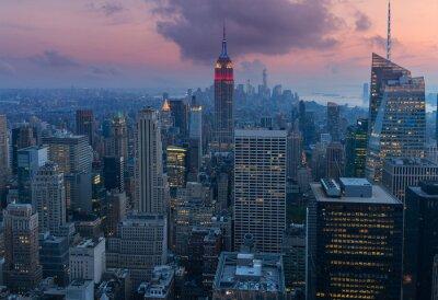 Obraz Średniej Manhattan