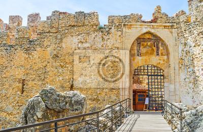 Średniowieczna twierdza w Alanii