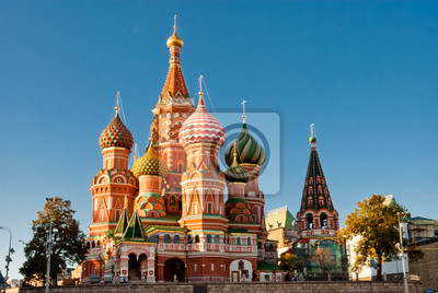 St Basil Katedra, Red Square, Moscow