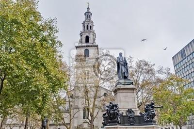 St Clement Danes kościół w Londynie