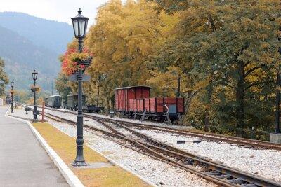 Stacja kolejowa w górach