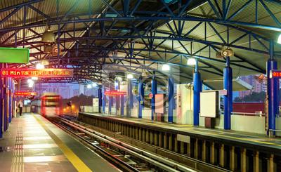 Stacja metra w Kuala Lumpur, Malezja