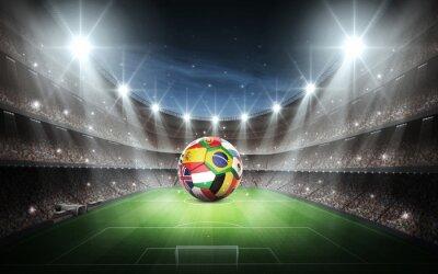 Obraz Stadion Drużyny Flagi i narodów