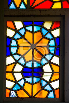 Obraz Stained glass window