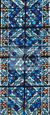 Obraz Stained-glass window in church