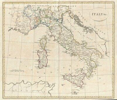 Obraz Stara mapa