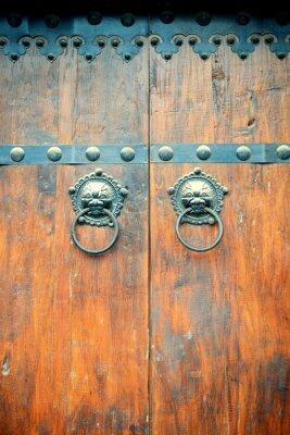 Obraz stare drzwi